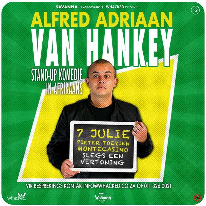 Alfred Adriaan – Van Hankey